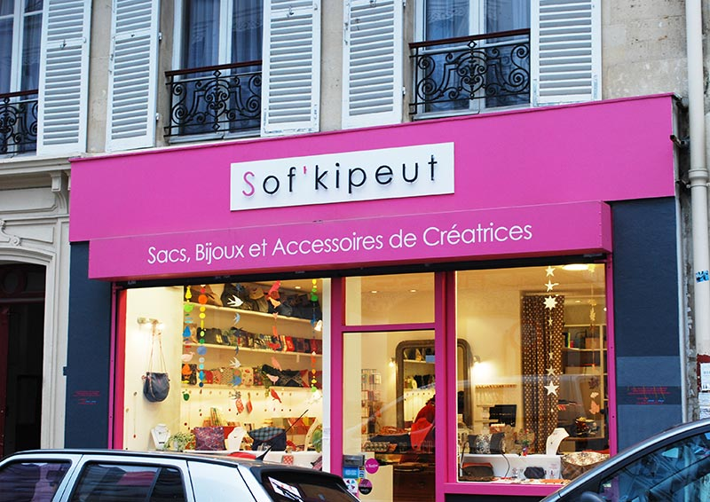 Sofkipeut shopping paris
