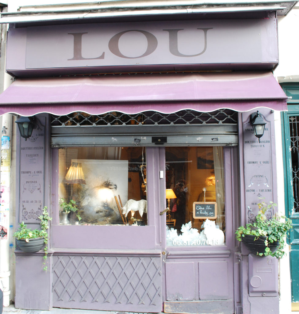 LOU Montmartre shopping i paris