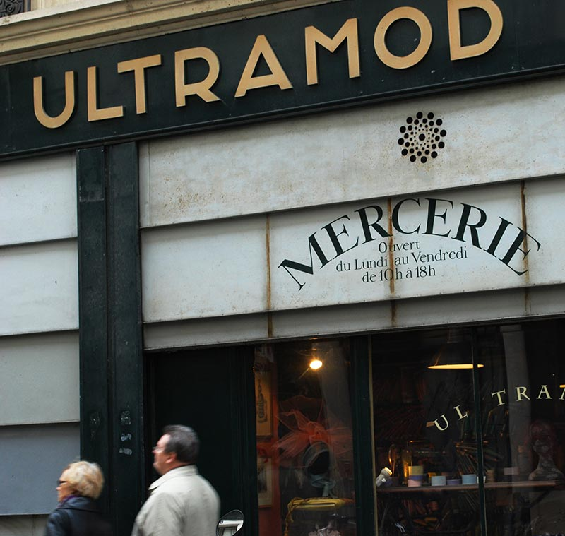 Ultramod shopping paris